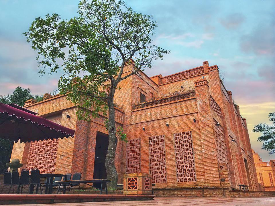Một góc Khu dịch vụ trải nghiệm văn hóa Thành Cổ Quảng Ngãi.